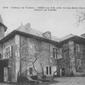Le château de Fontany