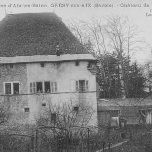 Château de Varrax, bâtisse du IX° siècle qui n'existe plus de nos jours.