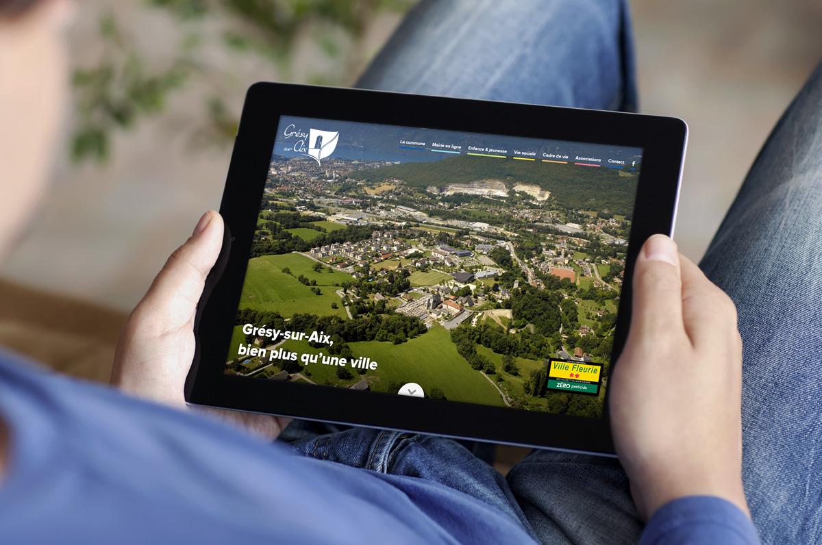 Un nouveau site intuitif et interactif pour la commune !