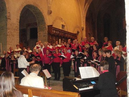 Concert commun avec 2 autres chorales