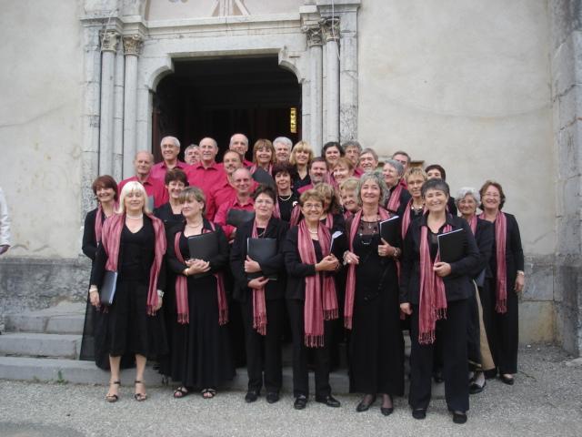 La chorale Terpsichore au complet