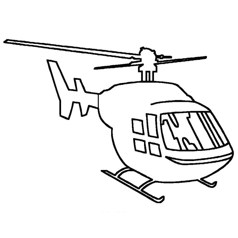 Survol des lignes électriques par hélicoptères