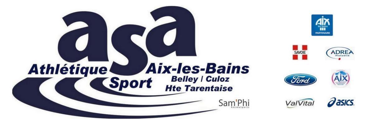 École d'athlétisme ASA Section Grésy-sur-Aix
