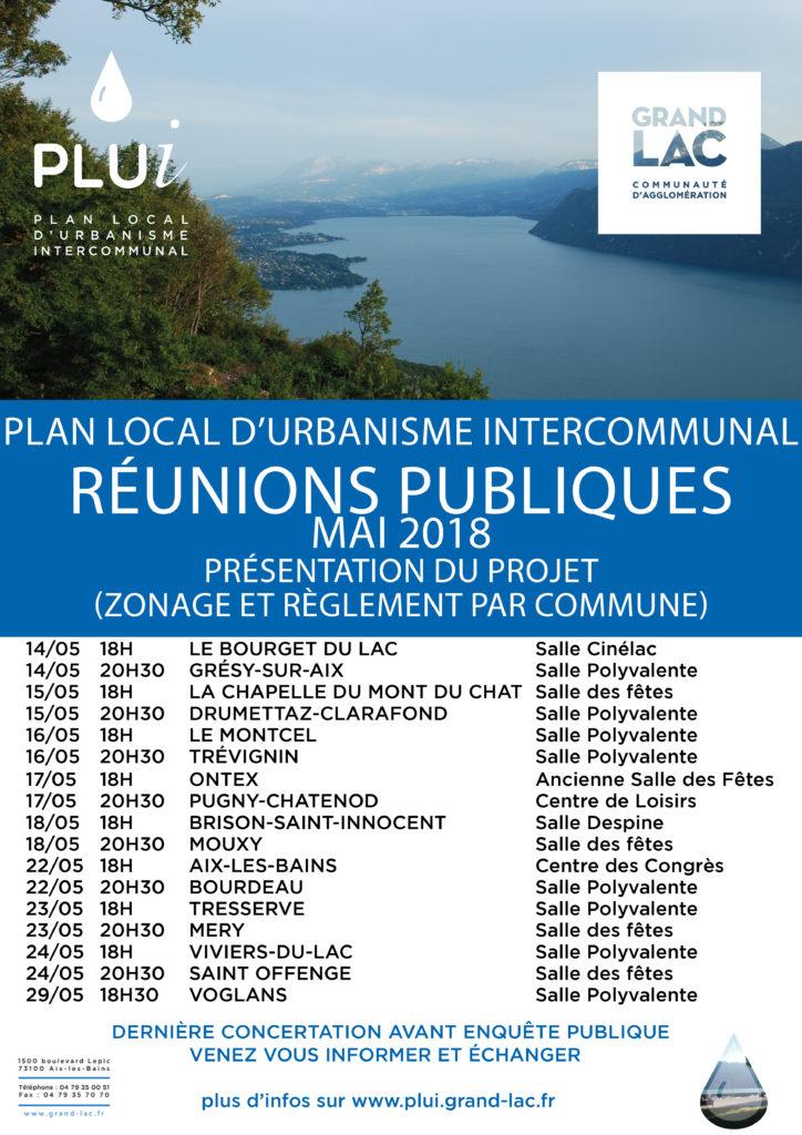 Projet de nouveau PLUi : présentation publique le 14 mai à 20h30