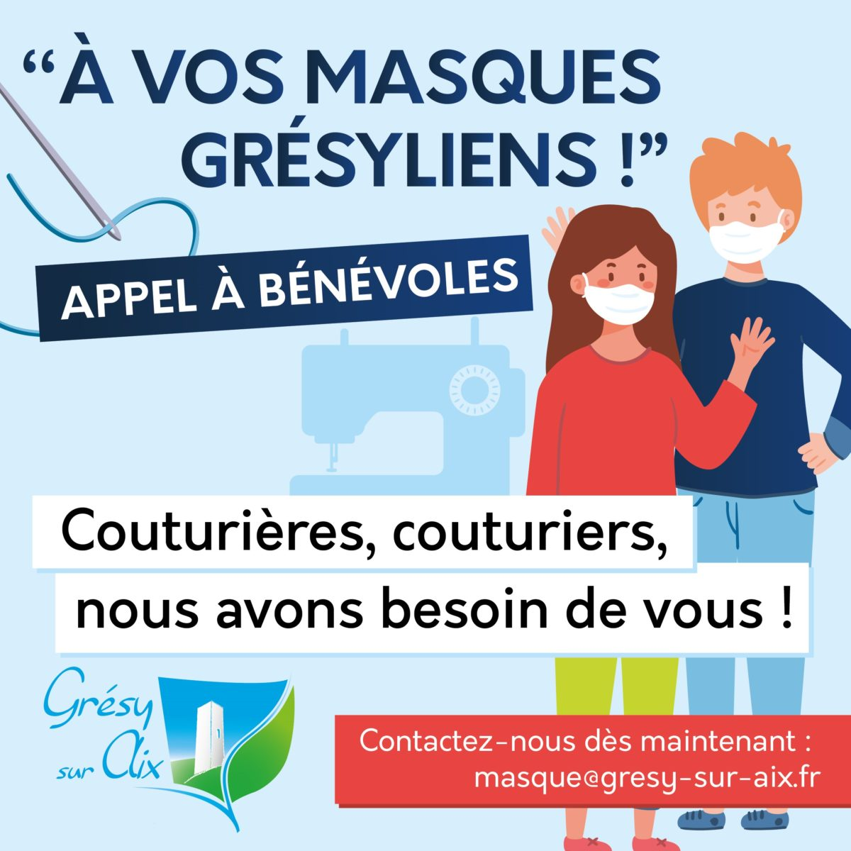 OPERATION « A VOS MASQUES GRESYLIENS ! »