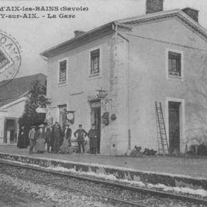 La gare de Grésy sur Aix.