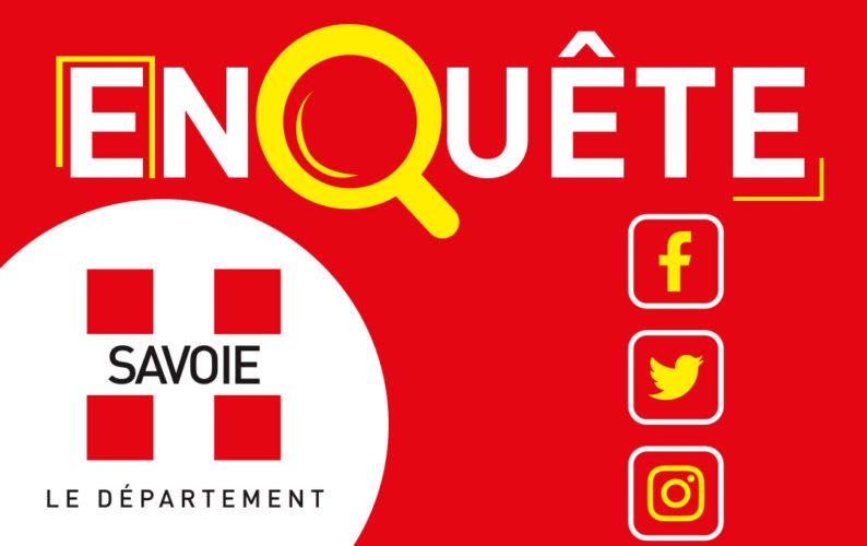 Enquête : le Département de la Savoie sur les réseaux sociaux