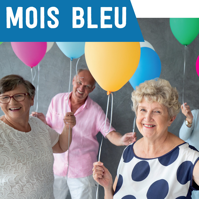 Tous ensemble pour le mois bleu